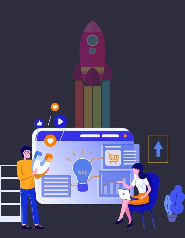 Riotspace Digital Marketing illustration