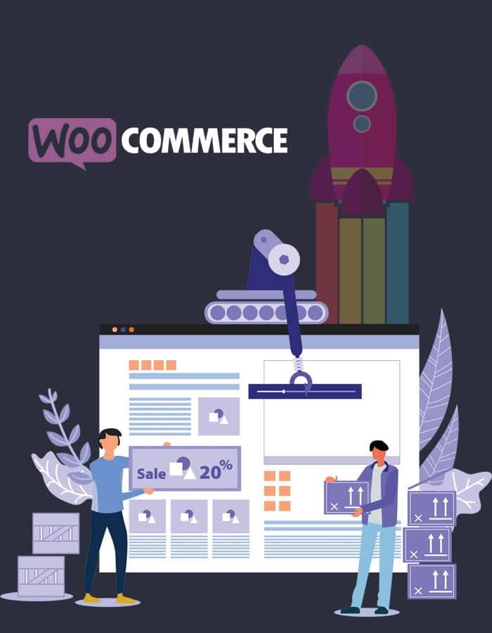 Ecommerce Website Design illustration